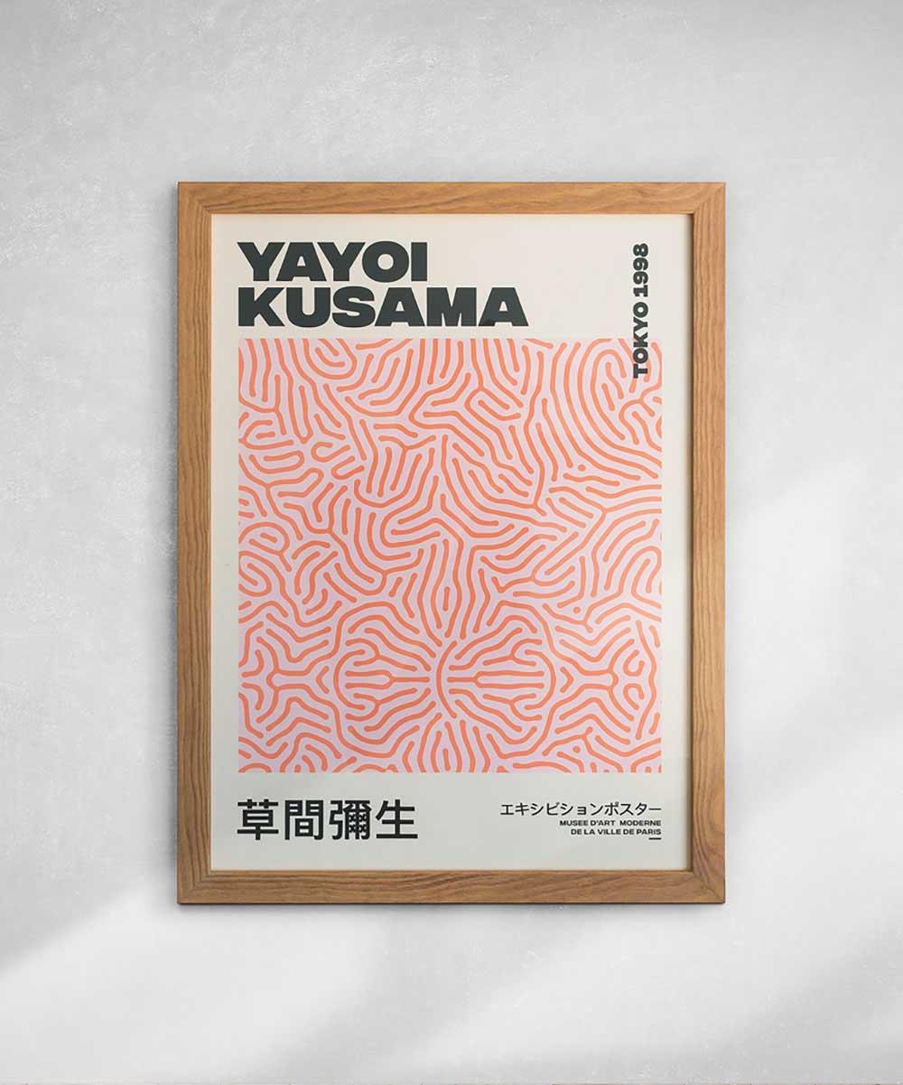 Yayoi Kusama Etsy Print & Frame